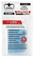 X-Wing Miniatures Game Sleeves - Supreme (10 Packs of 50)