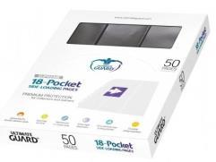 18 Pocket Side-Loading Pages - Black (50)