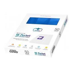 18 Pocket Side-Loading Pages - Blue (50)