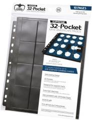 32-Pocket Pages Mini American - Black (10)