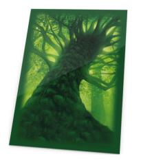 Printed Sleeves - Forest, Lands Edition (80)