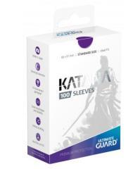 Katana Card Sleeves - Purple (100)