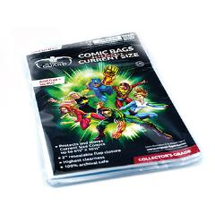Comic Bags - Current, Resealable (10 Packs of 100)