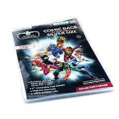 Comic Bags - Silver, Resealable (10 Packs of 100)