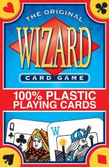Wizard Card Game (100% Plastic)