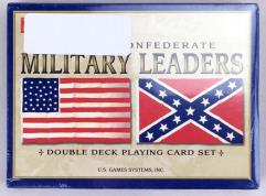 Union & Confederate Military Leaders - Playing Cards