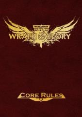Wrath & Glory - Core Rules - Red Leatherette (Limited Edition)