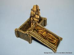 Crypt w/Chained Coffin