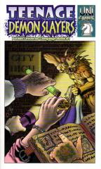 Campaign Book #1 - Teenage Demon Slayers