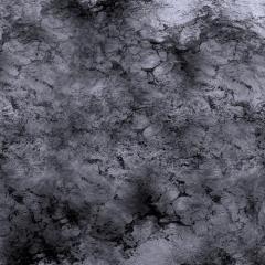 4' x 4' - Grey Planet