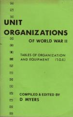 Unit Organizations of World War II