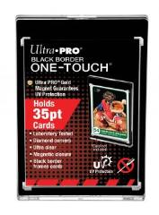One-Touch Magnetic Holder - 35pt Black Border (5 pack)