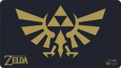 Playmat - Legend of Zelda, Black and Gold