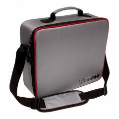Deluxe Gaming Case - Silver w/Red Trim