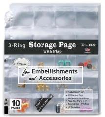 Storage Page w/Flaps (10)