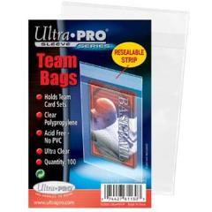 Resealable Sleeves - Team Bags (10 Packs of 100)