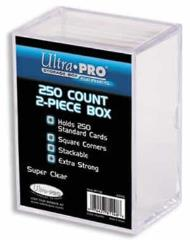 250 Count Storage Box - Clear
