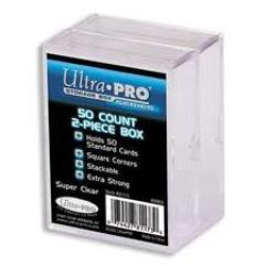 50 Count Storage Box - Clear (2)