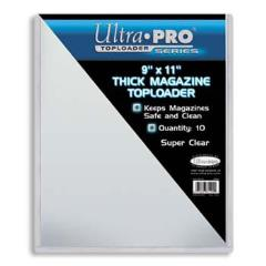"9""x11"" Thick Magazine Toploader (10 Pack)"