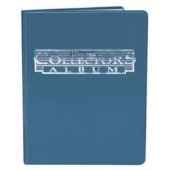 9-Pocket Card Collector Portfolio - Blue