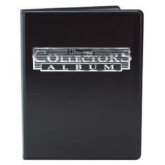 4-Pocket Card Collector Portfolio - Black
