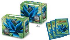 Side Loading Deck Box - 15th Anniversary Black Lotus w/Black Lotus Sleeves