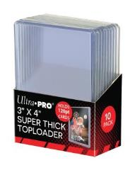 "Toploader - Super Thick (3"" x 4"") (10 Packs of 10)"