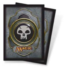 Card Sleeves - Black Mana, Series 3 (10 packs of 80)