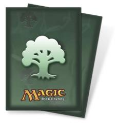 Card Sleeves - Green Mana (80)