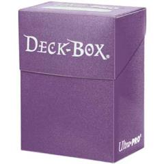 Deck Box - Solid Purple