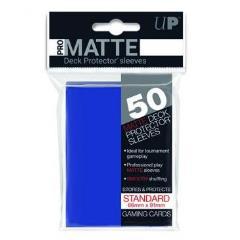 Pro-Matte Non-Glare Card Sleeves - Blue (50)