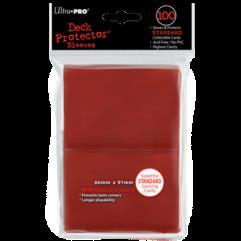 Standard Card Sleeves - Red (100)