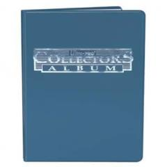 4-Pocket Card Collector Portfolio - Blue