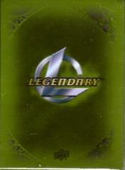 Card Sleeves - Legendary, Green (10 Packs of 50)