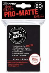 Pro-Matte Non-Glare Card Sleeves - Black, Undersized (60)