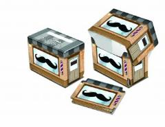 Side Loading Deck Box - Mustachios