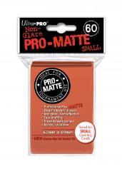 Pro-Matte Non-Glare Card Sleeves - Peach, Undersized (60)