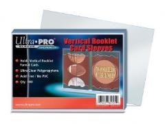 Vertical Booklet Card Sleeves (100)