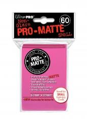 Pro-Matte Non-Glare Card Sleeves - Pink (50)