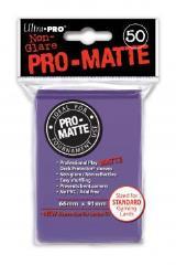 Pro-Matte Non-Glare Card Sleeves - Purple (50)