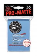 Pro-Matte Non-Glare Card Sleeves - Light Blue (50)