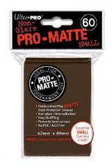 Pro-Matte Non-Glare Card Sleeves - Brown (50)