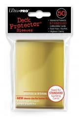 Deck Protector Sleeves - Gold (10 Packs of 50)