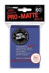 Pro-Matte Non-Glare Card Sleeves - Blue, Undersized (60)