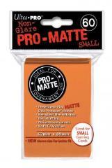Pro-Matte Non-Glare Card Sleeves - Orange, Undersized (60)