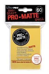 Pro-Matte Non-Glare Card Sleeves - Yellow, Undersized (60)