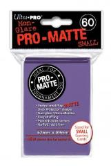 Pro-Matte Non-Glare Card Sleeves - Purple, Undersized (60)