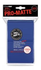 Pro-Matte Non-Glare Card Sleeves - Blue (100)