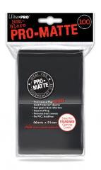 Pro-Matte Non-Glare Card Sleeves - Black (100)