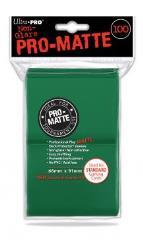 Pro-Matte Non-Glare Card Sleeves - Green (100)